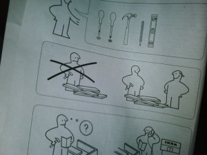 IKEA Shelf Assembly Instructions