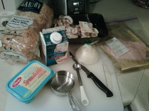 Egg white scramble ingredients